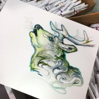 285- Forest Stag by Lucky978