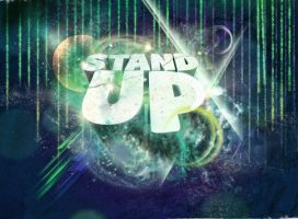 Standup Type by V1sualPoetry