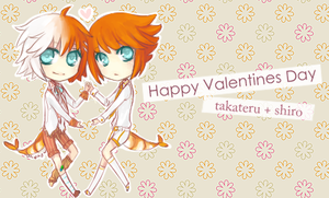 Vday Card : Kitco + Luu by akiicchi