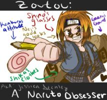 Obsessive Naruto Disorder by icyookami