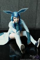 Glaceon by tweetnbirdy