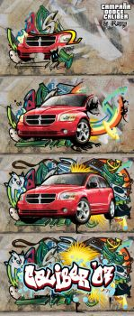 Lanzamiento Dodge Caliber by RangyRougee