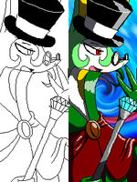 Miiverse  Pixel Perfect 2! (Colour Comparison) by ByThePowerOfDUSKULL