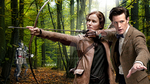 Katniss and The Doctor by tjevo9