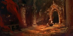 DBC - Env speed painting by Guesscui