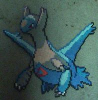 Latios perler beads by bdaxl