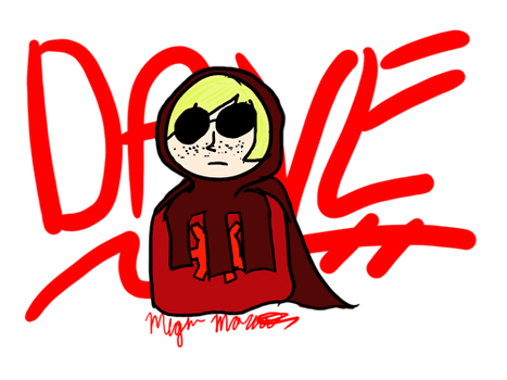 Dave Thingy by Moony131