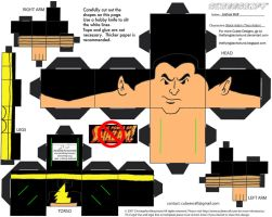 Vil11: Black Adam Cubee by TheFlyingDachshund
