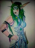 Tyrande Whisperwind by Lostrissy