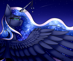 Princess Luna ~Collab~ by Jessy2015