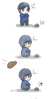 Dick and the Rocks by Ruby-Heart
