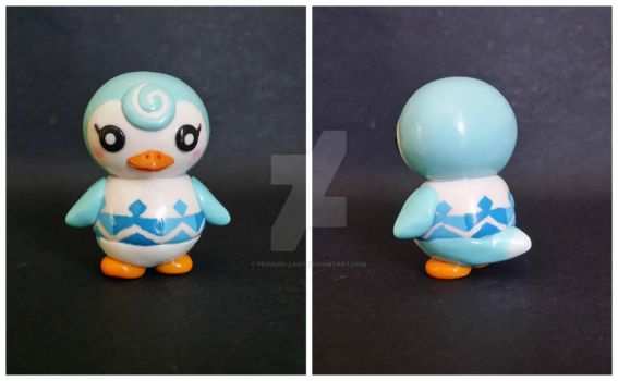 Sprinkle: Polymer clay villager by Penguin-Lady