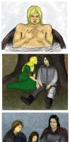 ASOIAF sketches by jekaa