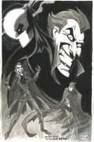 Neil Vokes Batman Joker by Club-Batman