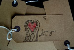 Kraken Valentines label by kraken-Designs