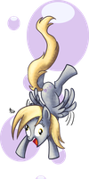 Derpy Dive by Phantosanucca