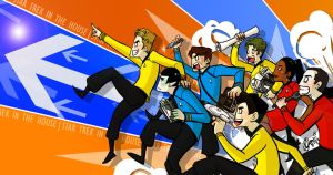 ST_StarTrek in the House by applepie1989