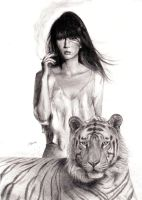 Tigress by Nature (Re-scanned) by Jagroar