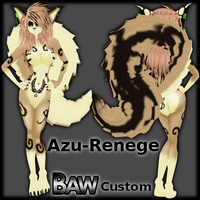Azu-Renege - IMVU Custom Furset by lonelycard