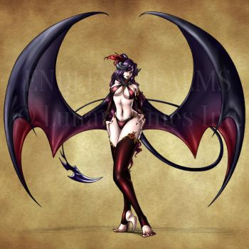 Endless Realms bestiary - Succubus by jocarra