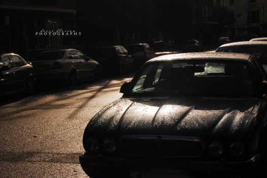 rainy cars . by trulynothingpersonal