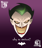 The Joker by cromarlimo