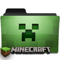 Minecraft folder icon by vivvien
