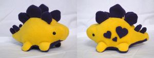 Royal Heart Stego Plushie by MowenDesigns