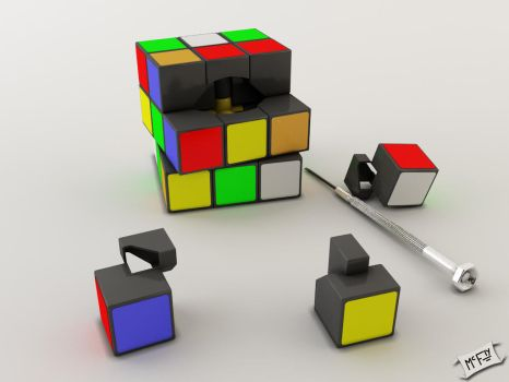 Rubik's Cube by Marty--McFly