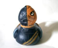 Deathstroke Duck by BlueSaltwaterTaffy