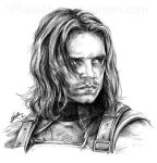 The Winter Soldier by PhaseChan