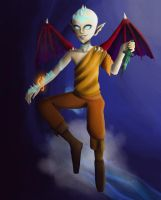 Monster Aang by Death-by-KIRA