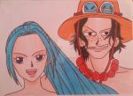 Ace and Vivi by Michael1525
