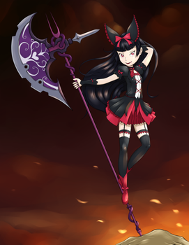 Rory Mercury by RisingDragonArt