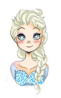 Queen Elsa of Arendelle by AskGumballAndAeryn