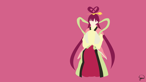 Kougyoku Ren (Magi) Minimalist Wallpaper by greenmapple17