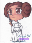 Princess Leia Chibi by KSapphire8989