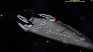 Star Trek: GENERATION FLEET U.S.S. Constitution by TrekkieGal
