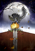 All Hallows eve (Salakummitus 2014) by Barguest