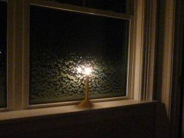 Candle on the Window by bEiLeVe
