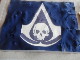 Assassins Creed Black Flag Pirate Flag Wip by k-h116