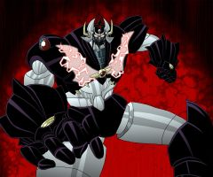 Raging Mazinkaiser by BlueStrikerBomber