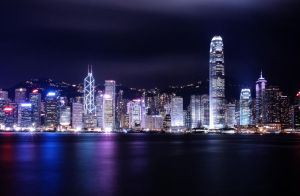 Hong Kong Skyline by Tung-Sama