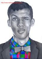 Stromae by MaTouschArtistique