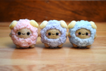 Felted Assorted Fluffy Sheep by xxNostalgic