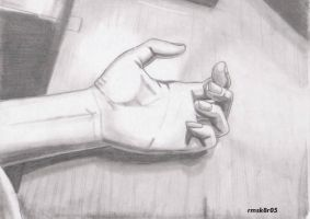 Still Life My Hand by rmsk8r05