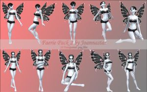 Faeries Pack 2 by joannastar-stock
