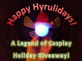 Happy Hyrulidays!  2012 Holiday Giveaway! by Linksliltri4ce