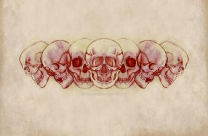 Sequential Skulls by onecuriouschip
