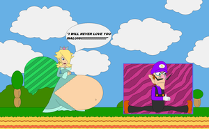 Not Gonna Happen Waluigi by Bowser14456